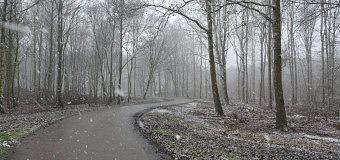 Dronten weer gehuld in sneeuw