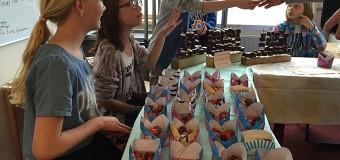 Jonge 'ondernemers' van Het Kompas halen mooi bedrag op voor goede doel