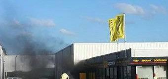 Oplettende burger ontdekt brand bij Decokay