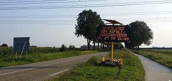 Onderhoud asfalt Rietweg