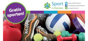 Gratis sporten met de Sport in Dronten Strippenkaart